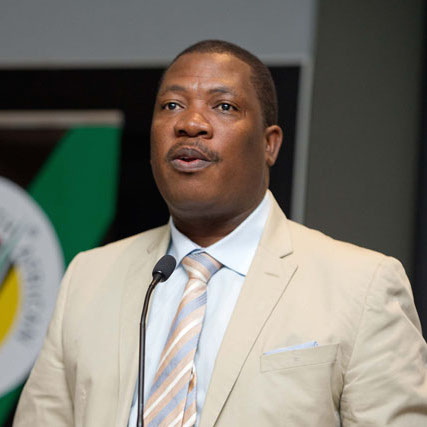 Panyaza Lesufi, urges parents to get kids to school.