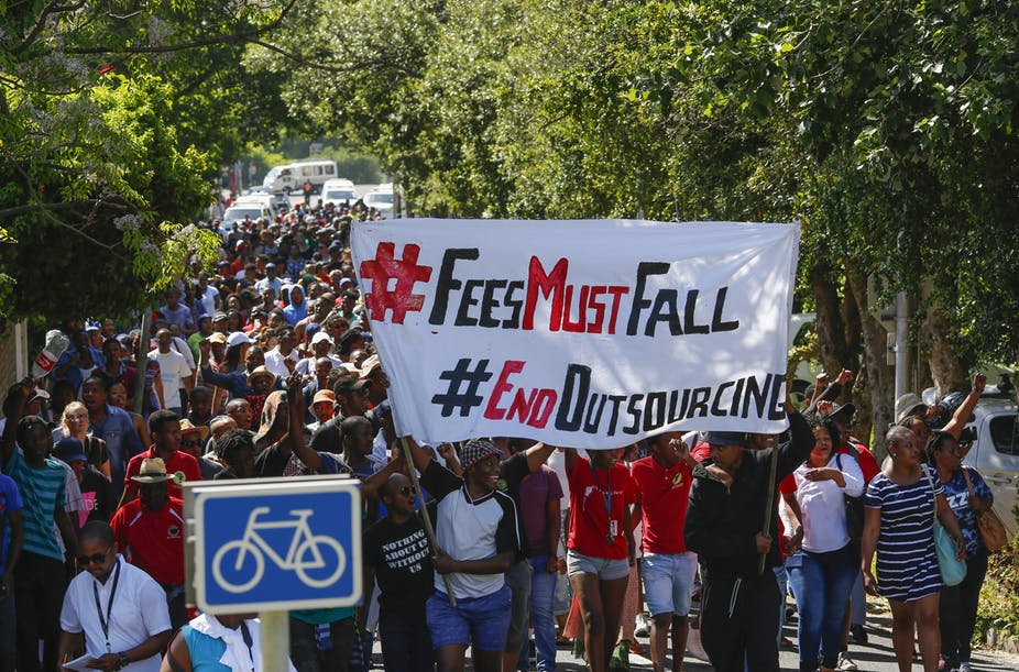 Student leaders not informed next year's tertiary fee increase negotiations