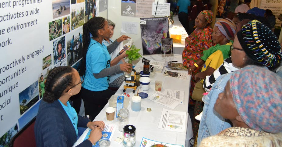 South African scientists explain why they make time for science festivals